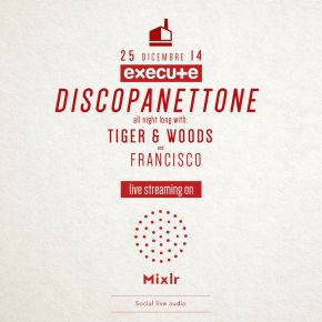 Discopanettone goes live streaming on Mixlr