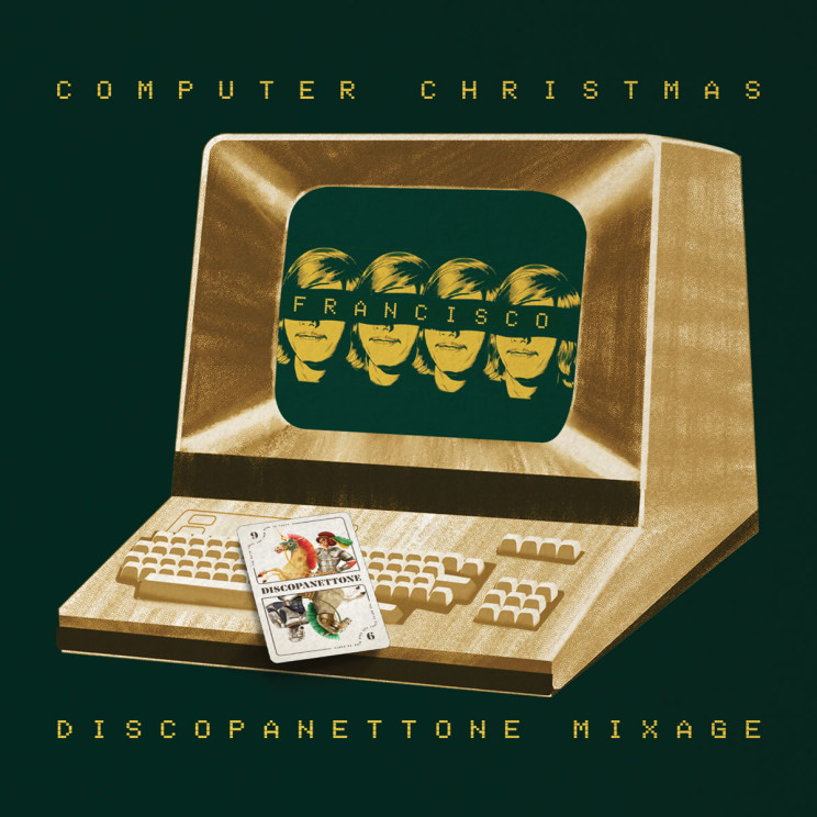 COMPUTER CHRISTMAS - DISCOPANETTONE 2017 MIXAGE by FRANCISCO